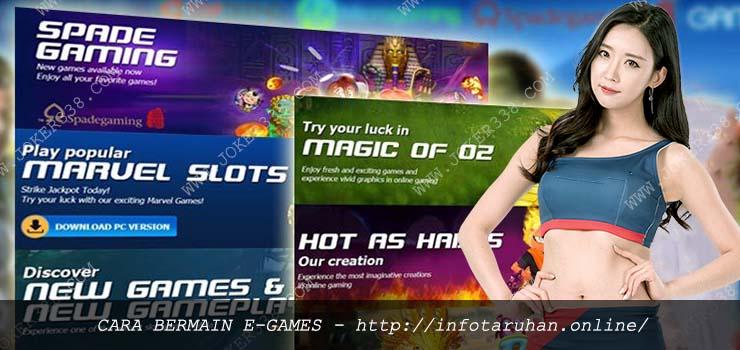 Cara Bermain E-Games