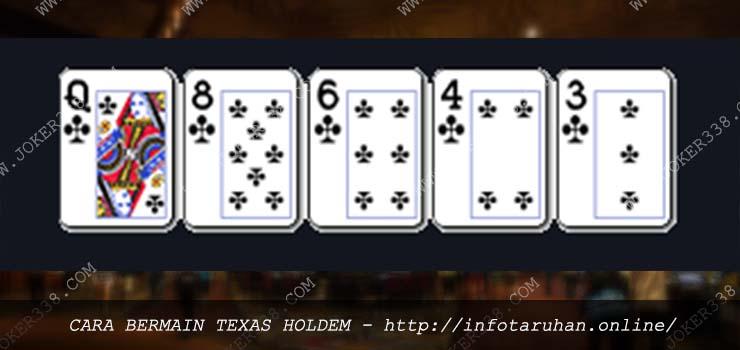 Cara Bermain Texas Poker