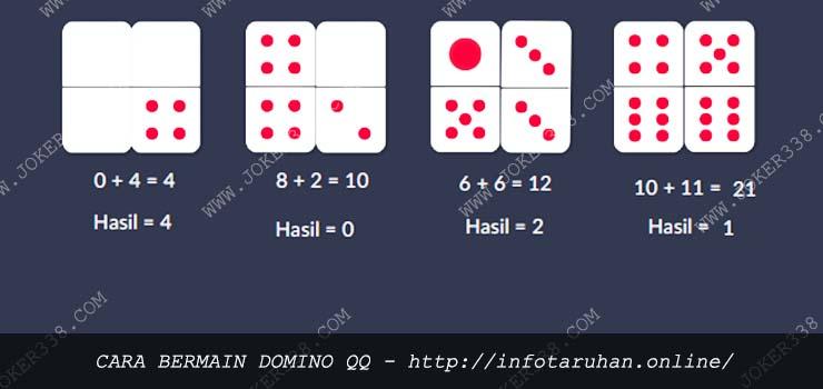 Cara Bermain Domino QQ