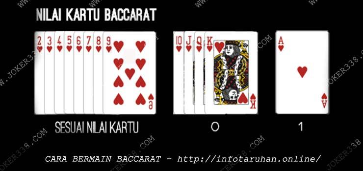 Cara Bermain Baccarat